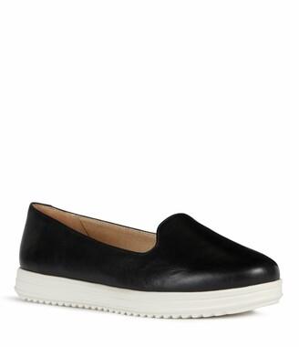 Geox Genova Leather Slip-On Oxford