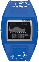 Nixon Men's Lodown Digital Speckle Silicone Watch