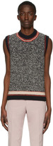 Maison Margiela Black 5 Gauge Vest
