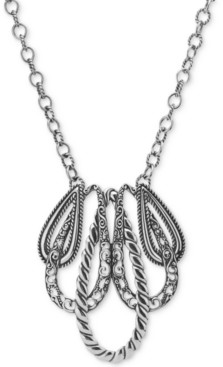 """Carolyn Pollack """"Lasting Connections"""" Pendant Necklace in Sterling Silver"""