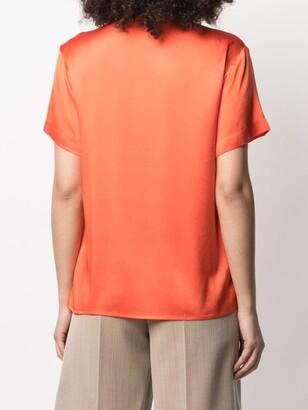 Antonelli silk V-neck T-shirt