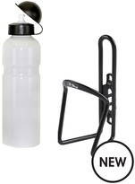 M-Wave Bike Bottle Cage And 750ml Water Bottle Set