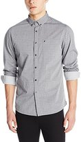 Kenneth Cole New York Kenneth Cole Men's Long Sleeve Check Slim Shirt
