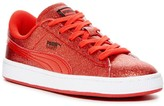 Puma Basket Holiday Glitz Shoe (Toddler, Little Kid, & Big Kid)
