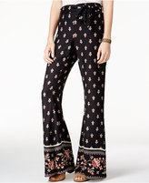 American Rag Printed Wide-Leg Pants, Only at Macy's