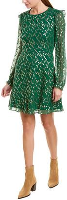 Hutch Silk-Blend A-Line Dress