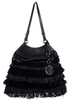 d83831eda77 Versace Snap Closure Handbags - ShopStyle