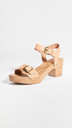 Madewell The Akiva Buckle Clogs