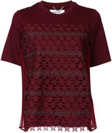 Muveil star crochet T-shirt