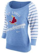 Nike Women's St. Louis Cardinals Coop Gym Vintage Crew Sweatshirt