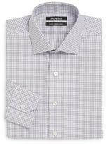 Saks Fifth Avenue Thomas Mason Cotton Slim-Fit Check Dress Shirt