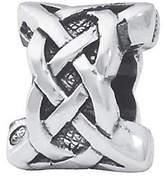 Celtic Prerogatives Sterling Silver Weave Bead