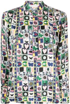 La DoubleJ Portofino print shirt