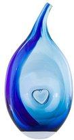 Kosta Boda Blue Bali Bud Vase