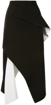 Rachel Gilbert Front Slit Skirt