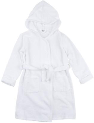 Leveret White Bathrobe (Baby, Toddler, Little Kids, & Big Kids)