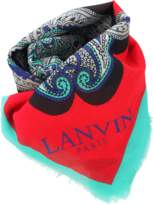 Lanvin Printed Scarf