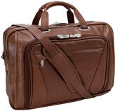 McKlein McKleinUSA Irving Park 15.6 Leather Double Compartment Laptop Briefcase