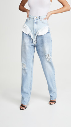 Natasha Zinko Shorts On Jeans