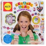 "Alex ceramic Beads"""" Sticker Party Set."
