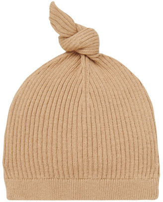 Seed Heritage Essential Knitted Beanie Natural