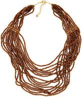 Nakamol Multi-Strand Czech Crystal Necklace