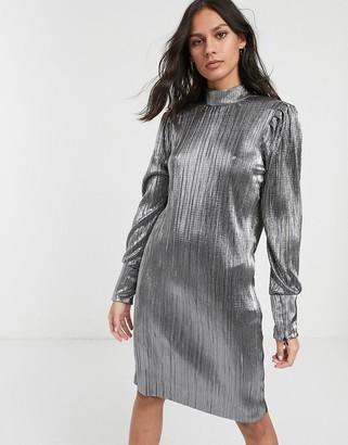 Levete Room metallic mini dress