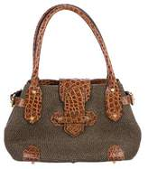 Eric Javits Leather-Trimmed Squishee Tote