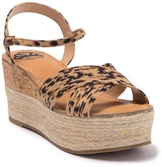 Fergalicious Pardy Espadrille Platform Sandal