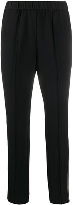 Calvin Klein Straight-Leg Cropped Trousers