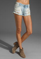 MINKPINK Trailer Park Slashed Hipster Shorts