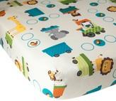 Bedtime Originals Lambs & Ivy Choo Choo Fitted Crib Sheet