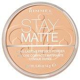 Rimmel Stay Matte Pressed Powder, Nude Beige, 0.49 Ounce