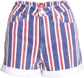 Dickies High Waist Stripe Shorts