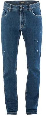 Fendi Jeans with Diabolic detail