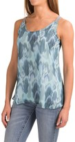 Roper Feather Print Tank Top (For Women)