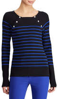 Lauren Ralph Lauren Striped Crew Neck Sweater