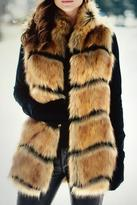 Locust Whimsy Horizontal Fox Vest