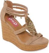 POP Margie Womens Wedge Sandals