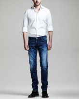DSquared DSquared2 Distressed Slim Jeans