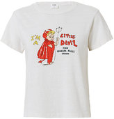 RE/DONE Little Devil Vintage White Tee