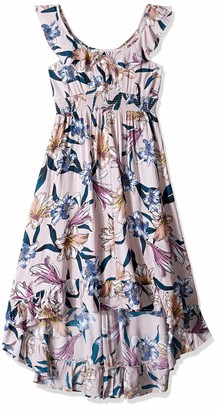 O'Neill Women's Clea Woven Dress Hi Lo Hem
