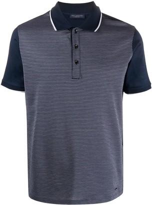 Paul & Shark Contrast Jacquard Polo Shirt