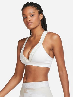 Nike Light Support Indy Sports Bra - White