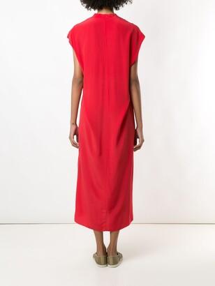 OSKLEN V-neck midi dress