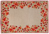 Liora Manné Trans Ocean Imports Ravella Poppies Floral Indoor Outdoor Rug