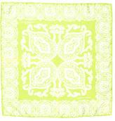 Turnbull & Asser Silk Paisley Print Pocket Square