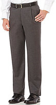 Daniel Cremieux Modern Fit Solid Pleated Front Dress Pants