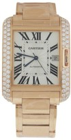 Cartier Tank Anglaise Large WT100004 18K Rose Gold Watch