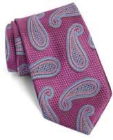 Nordstrom Men's Textured Paisley Silk Tie
